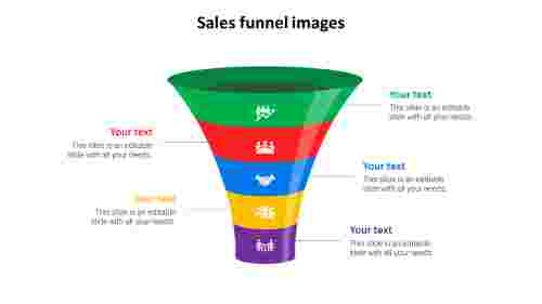 sales funnel images template